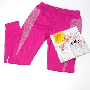Danskin Now Workout Leggings Pink Size Medium 8-10